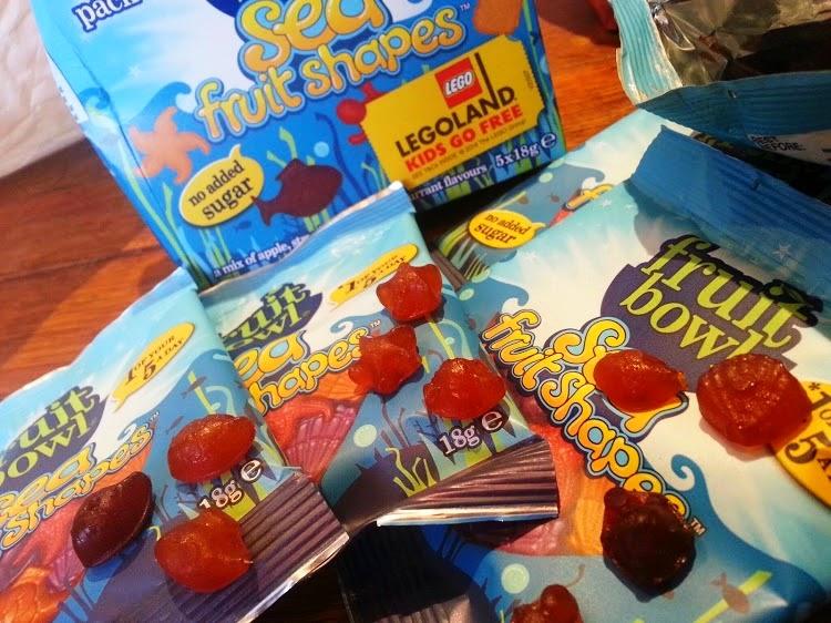 FruitBowl children's fruit snacks Sea Fruit Shapes review