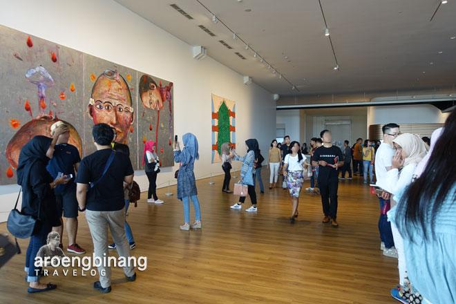 antrian tiket museum macan modern and contemporary art in nusantara jakarta barat