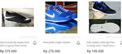 Cara Mudah Mengetahui Harga Sepatu Nike Running Terbaru