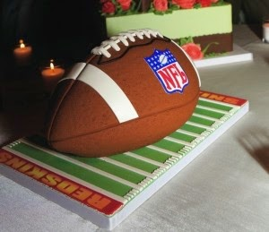 Redskins groom's cake