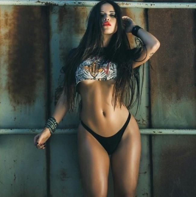 A modelo e musa fitness brasileira Bianca Anchieta