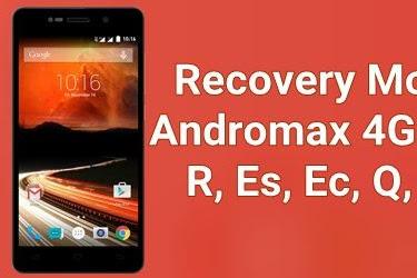 Cara Masuk Recovery Mode Smartfren Andromax 4G Lte Semua Seri
