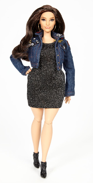 The Ashley Graham doll. Photo: Barbie