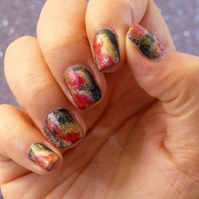 Galaxy nail