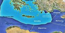 διαχωριστικής γραμμής μεταξύ Τουρκίας και Ελλάδας