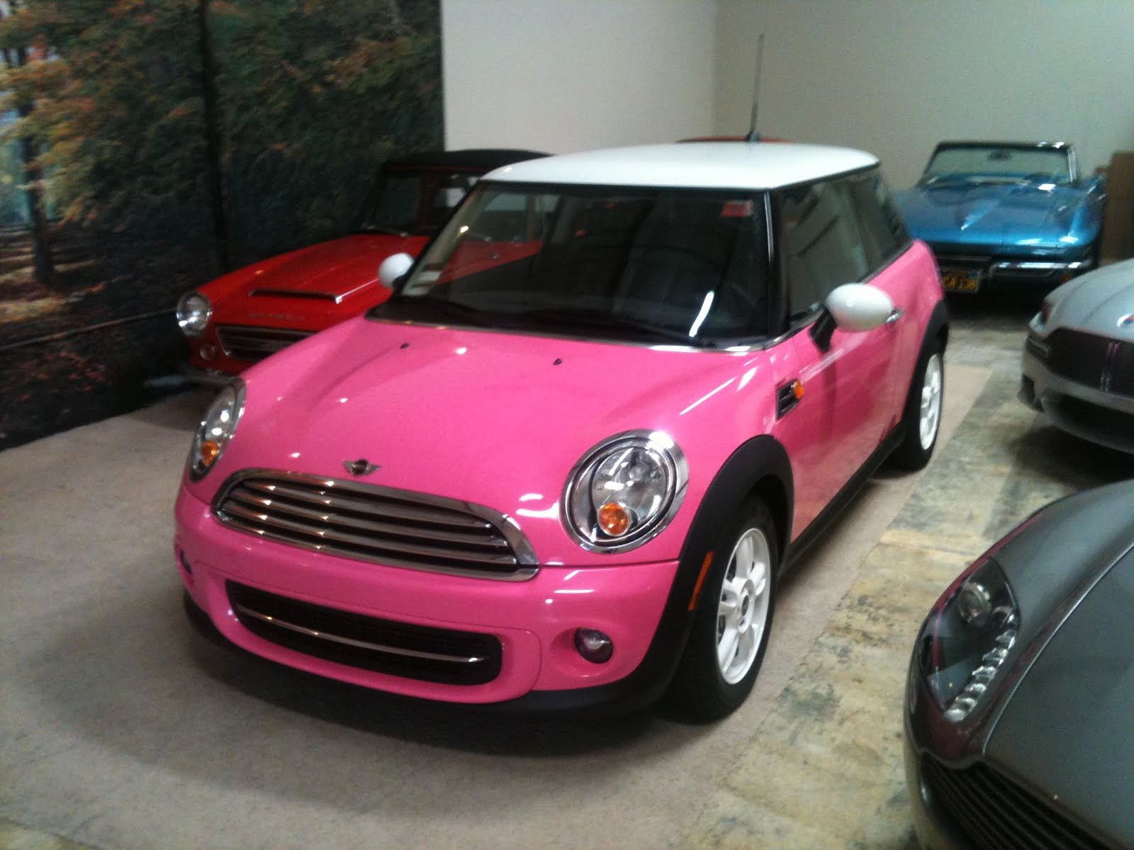 It Looks Good In Red But I Have To Say The Pink Terrific And White Wheels Are Perfect Accessory Complete Toy Car Look