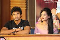 Kiran Chetwani with Janani Iyyer and others at Lakshmi Devi Samarpinchu Nede Chudandi Movie Interview 007.JPG