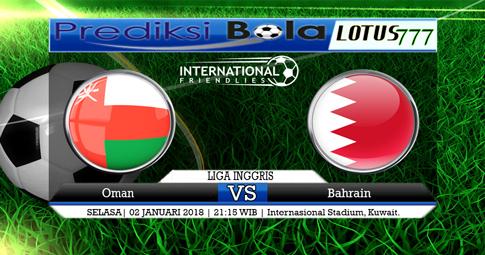PREDIKSI  Oman vs Bahrain   02 JANUARI 2018