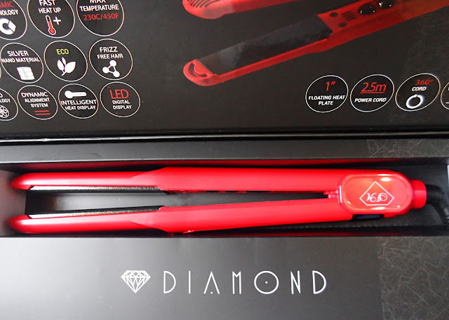 Irresistible Me flat iron review blogger hair flat iron before after pictures liz breygel buy online