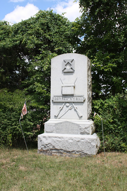 123rd New York Monument at Cedar Creek