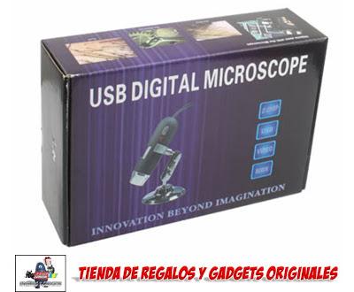 microscopio USB barato