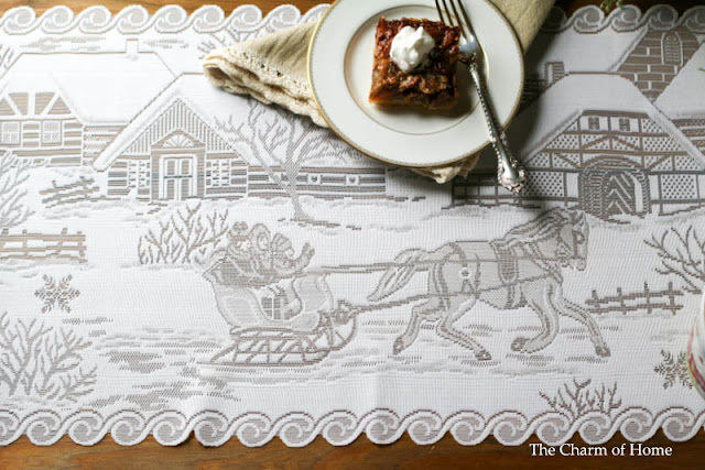 Sleigh Ride Runner by Heritage Lace