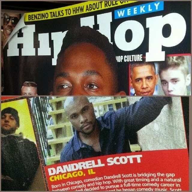 "MEDIA PRESS: Dandrell Scott in ""Hip Hop Weekly"" Magazine"