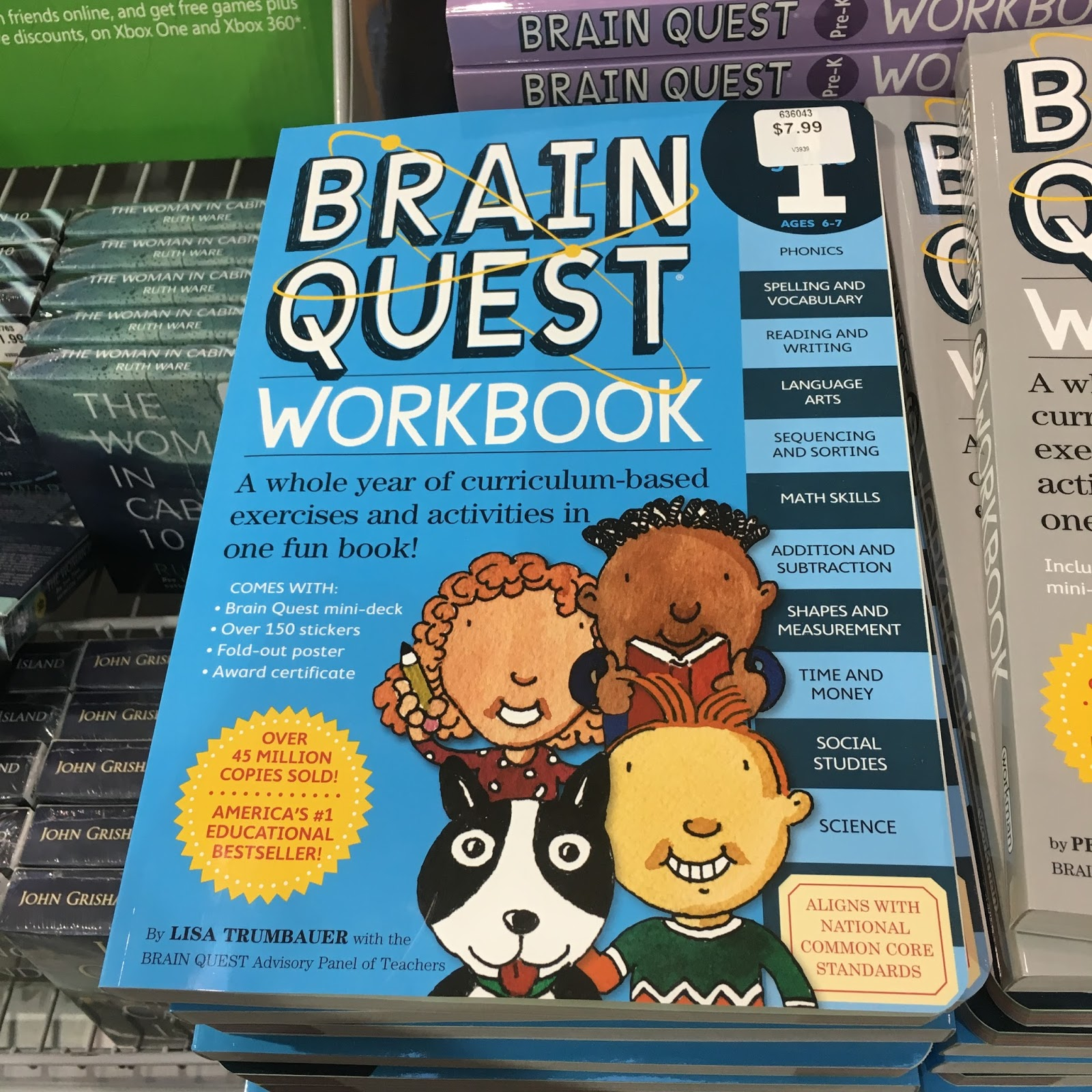 the Costco Connoisseur: Save on Grade School Workbooks at