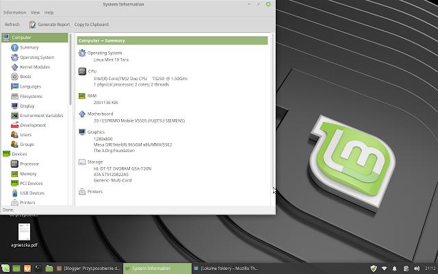 pulpit Linux Mint 19 Tara Xfce