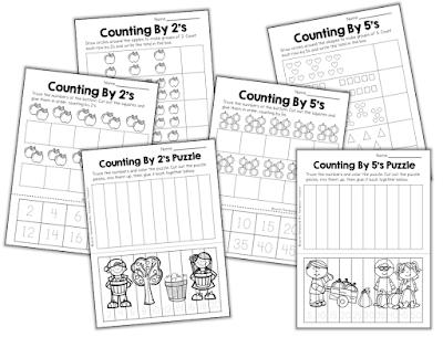 classroom freebies free skip counting worksheets. Black Bedroom Furniture Sets. Home Design Ideas