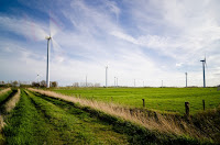 Electricity storage could help electric companies use more wind power. (Credit: Mathias Appel/flickr) Click to Enlarge.