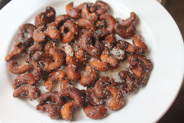 Honey Roasted Cashews Recipe