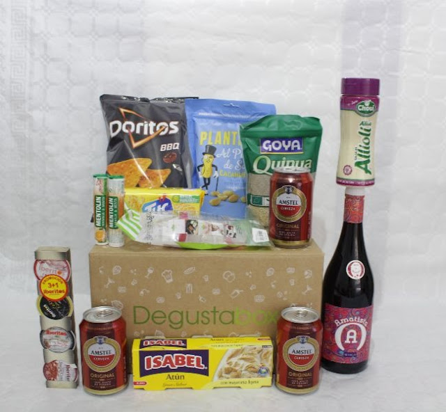 Degustabox Julio 2018
