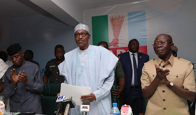 2019: We Must Defeat Politicians Who Ruined Nigeria - Buhari