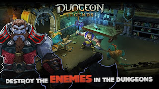 Dungeon Legends Apk v1.78 Mod (High Damage + Mana + No Skill CD)