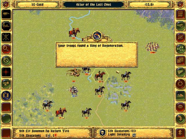 The Ring of Regeneration  | Fantasy General Screenshot