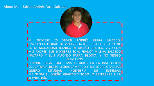 About Me: Stiven Andres Parra Salcedo