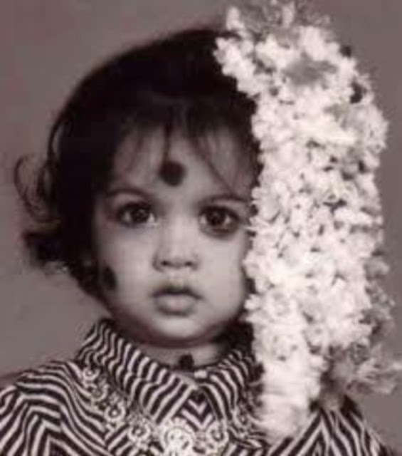 Samantha Ruth Prabhu Childhood Photos