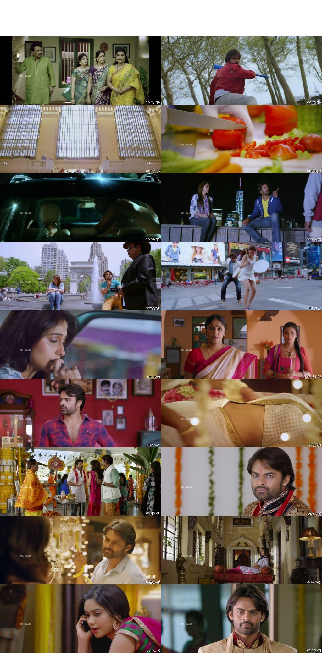 Screen Shot Of Tollywood Movie Subramanyam For Sale 2015 Full Movie In Hindi Dubbed Free download 720P HD