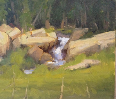 Impressionist plein air oil painting by artist Steve Allrich.