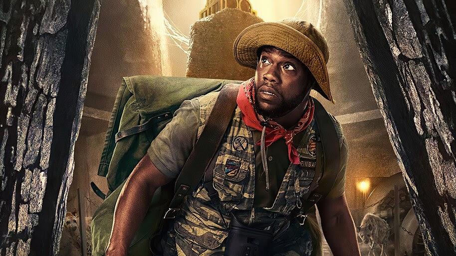 Jumanji The Next Level Kevin Hart Movie Poster 4k Wallpaper