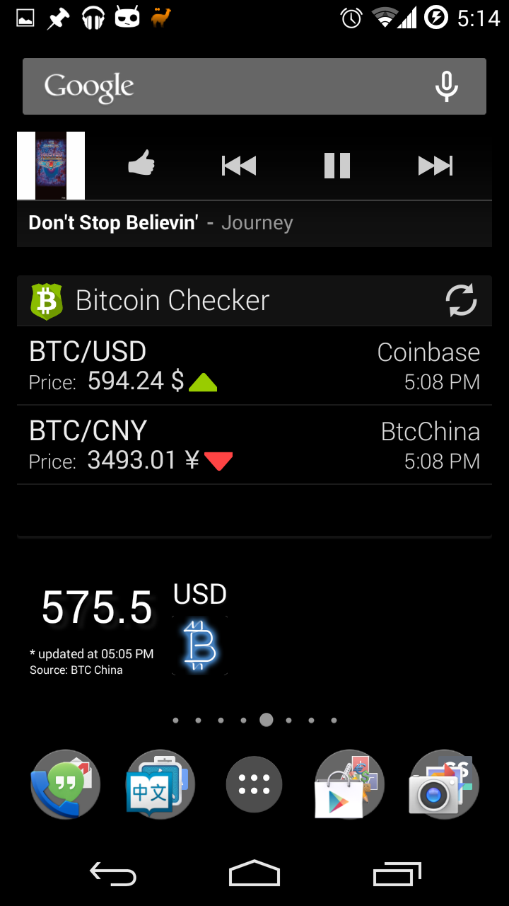 How To Use Bitcoin Transfer Money From One Country Another Wiring Out Of China On My Android Smartphone I Installed The Widget Checker Like This Because It Allows Me Check Btcchina Market And Coinbase