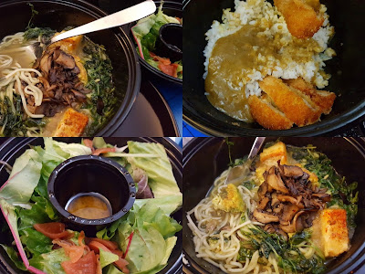 wagamama take away curry ramen noodles tofu omlette