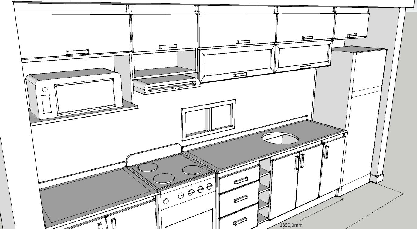 Dimensiones Muebles De Cocina. Elegant La Misma Importancia Y ...