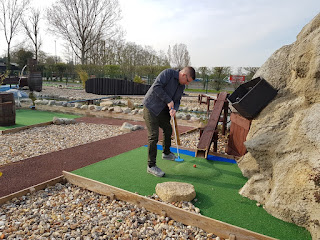 Smugglers Bay Adventure Golf course at Stonham Barns in Suffolk