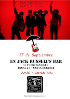 Platos Rotos en Jack Russell's Bar