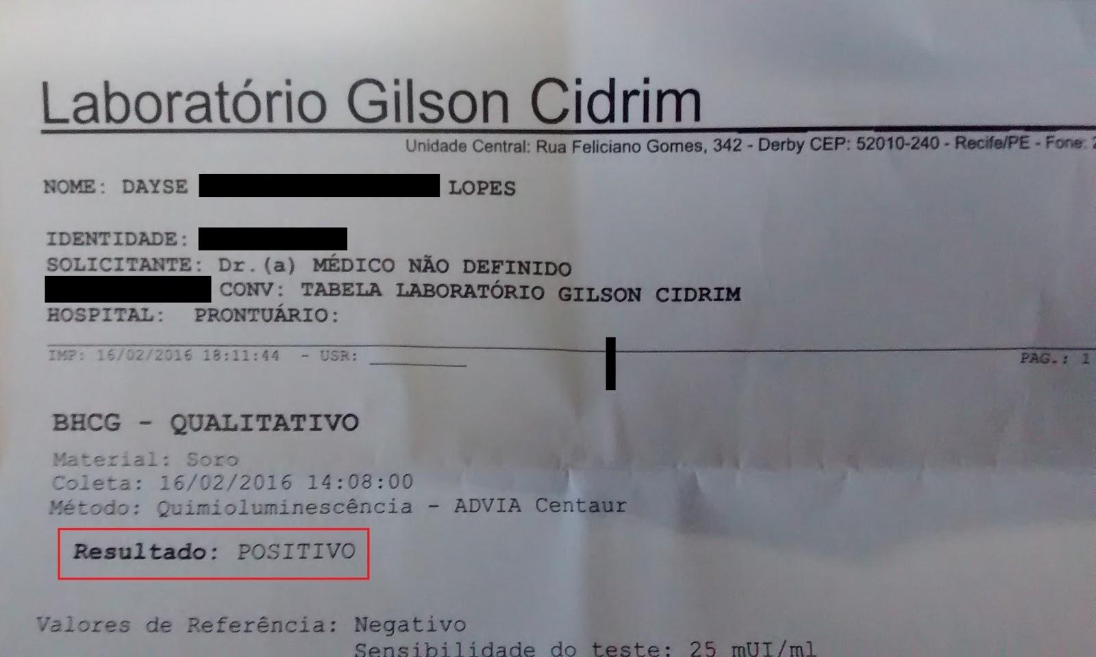 Gilson Cidrim Resultados De Exames Trabalhos Acadêmicos