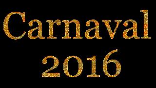 Texto Carnaval 2016  2 dourado png