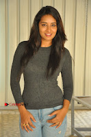 Actress Bhanu Tripathri Pos in Ripped Jeans at Iddari Madhya 18 Movie Pressmeet  0042.JPG