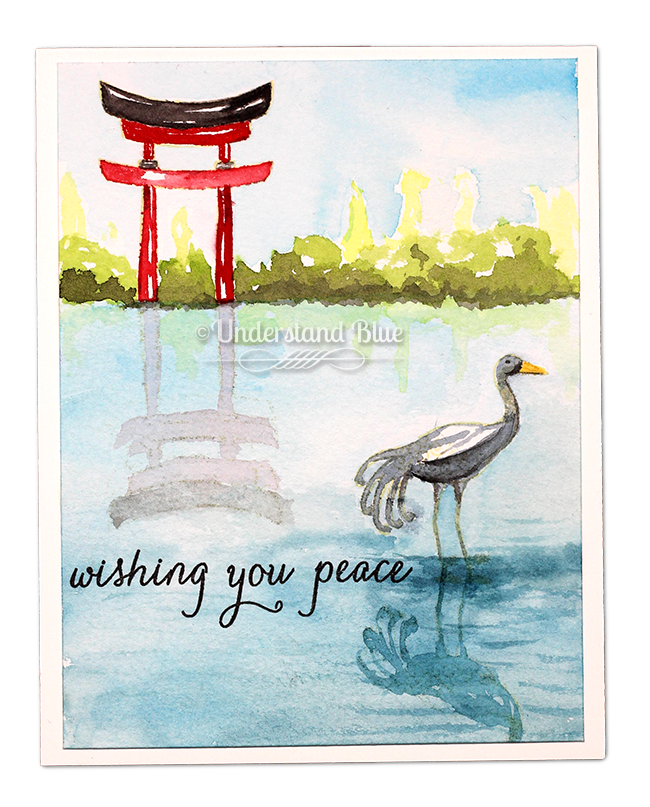 Wishing you peace by Understand Blue - blog hop and giveaways