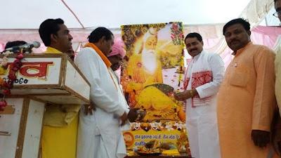 संस्कृत के पहले श्लोक के रचयिता महर्षि बाल्मीकि हैं: रावत करैरा में मनाई बाल्मीकि जयंती