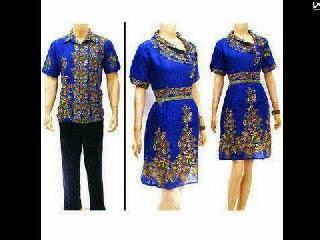 Baju Batik Sarimbit Pasangan Model Terbaru Untuk Pria Dan Wanita