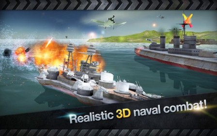 Download WARSHIP BATTLE : 3D World War II v1.2.1 Apk Terbaru 2016