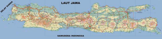 Gambar Peta Pulau Jawa Lengkap Beserta Keterangannya Seni Kabupaten Bali