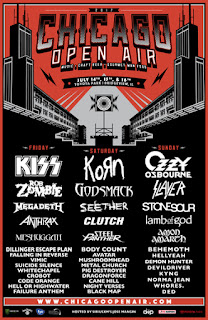 Chicago Open Air Heavy Metal Music Festival