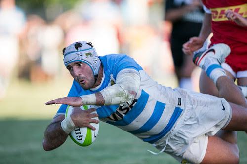 Argentina XV ganó, gustó y goleó a Canadá