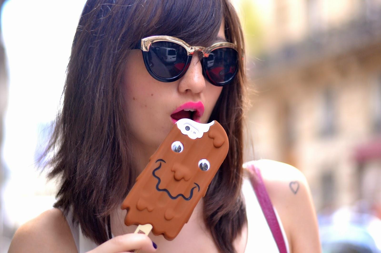 Moschino冰淇淋iPhone手机壳