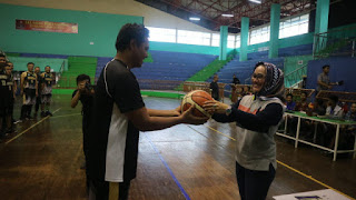 Wakil Walikota Cirebon Suport Olah Raga Basket untuk Bisa Lebih Maju Lagi