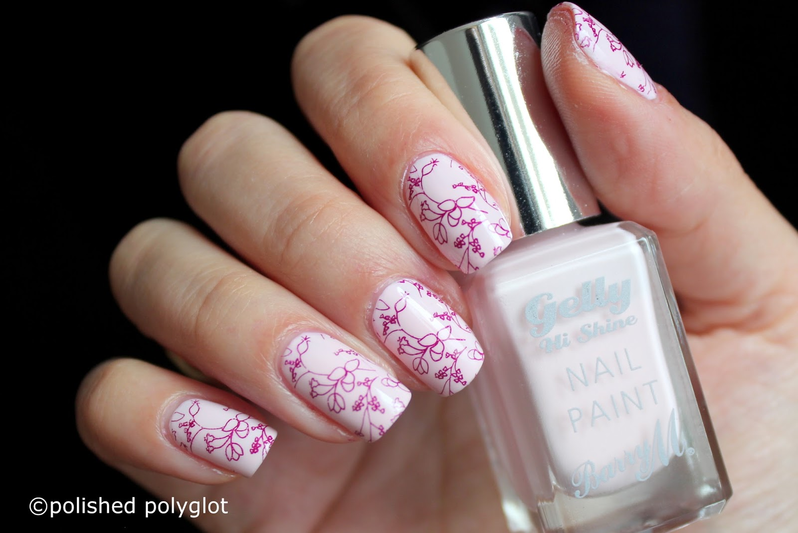Nail art │ Delicate pattern for Spring [Nail Crazies Unite ...