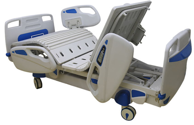 tempat tidur rumah sakit otomatis